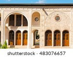blur in iran the antique  royal ... | Shutterstock . vector #483076657