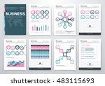 infographic vector set.... | Shutterstock .eps vector #483115693