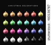 Christmas Decoration Balls...