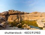 unseen thailand grand canyon...   Shutterstock . vector #483191983