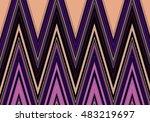 abstract decorative texture... | Shutterstock . vector #483219697