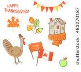 vector illustration in hand... | Shutterstock .eps vector #483270187