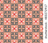 seamless geometric pattern with ...   Shutterstock .eps vector #483272917