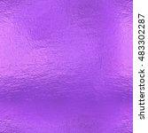 purple seamless background ... | Shutterstock . vector #483302287