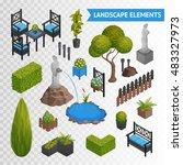 Various Garden Park Landscape...