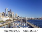 View Of Seattle Downtown...