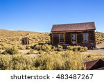 1800's Cabin With Outhouse