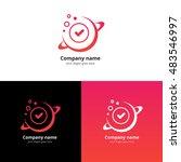 planet space vector logo design ...