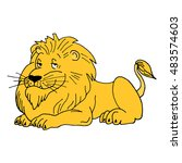 Lion Vector. Lion Icon. Lion...