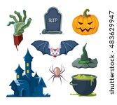 vector illustration of... | Shutterstock .eps vector #483629947