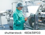 plant picture  clean room... | Shutterstock . vector #483658933