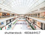 blurred image interior of main... | Shutterstock . vector #483664417
