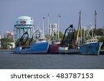 atlantic city  new jersey  usa  ... | Shutterstock . vector #483787153