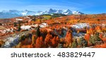 Panoramic View Of Autumn...