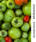 Tomatoes. Red Ripe Tomatoes An...