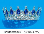beautiful silver crown with
