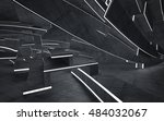 empty dark abstract concrete... | Shutterstock . vector #484032067