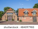 historical buildings at the... | Shutterstock . vector #484097983