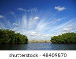 The Turner River in Big Cypress National Preserve, Florida Everglades