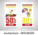 web sale banner   Shutterstock .eps vector #484108183