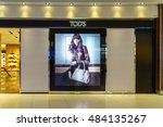 bangkok  sep 15  tod's shop at... | Shutterstock . vector #484135267