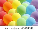 Balloons Showing Splendid Colors