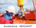 magnetic particle inspection... | Shutterstock . vector #484164427