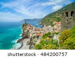 landscape vernazza  cinque...   Shutterstock . vector #484200757