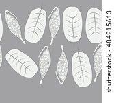 seamless horizontal pattern...   Shutterstock . vector #484215613