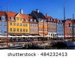 copenhagen  denmark   september ...   Shutterstock . vector #484232413