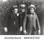 policeman arresting two men   Shutterstock . vector #484242763