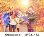 technology  season  friendship... | Shutterstock . vector #484281463