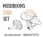 Mushroom Stencil Trippy