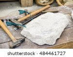 workplace  traditional tools... | Shutterstock . vector #484461727