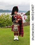 Urquhart Castle  Scotland  Uk ...