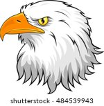 eagle head mascot | Shutterstock .eps vector #484539943