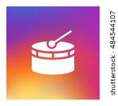 drum icon vector  clip art....