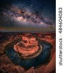 panorama photo of horseshoe... | Shutterstock . vector #484604083