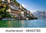 Lugano Lake In Switzerland....