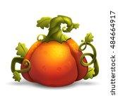 halloween cartoon pumpkin...