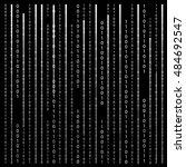 black and white. algorithm...   Shutterstock . vector #484692547