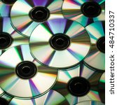 Background With Cds And Dvds ...