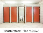 in an public building are... | Shutterstock . vector #484710367