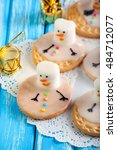 Melted Snowman Cookies With...