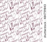 seamless background of... | Shutterstock .eps vector #484759843