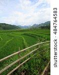 Small photo of Rice fields on terraced of Xa Nam Bung, Vietnam