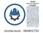development rounded vector... | Shutterstock .eps vector #484801753