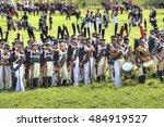 borodino  russia   september 09.... | Shutterstock . vector #484919527