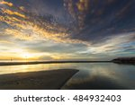 beautiful morning at the beach | Shutterstock . vector #484932403