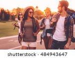 having freedom to go anywhere.... | Shutterstock . vector #484943647